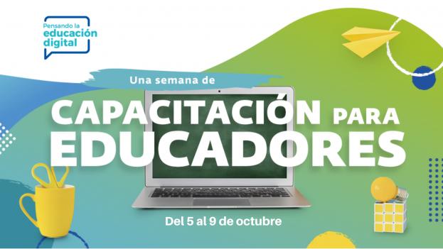 Daniel Monastersky en la Semana de capacitación a educadores de Argentina Cibersegura