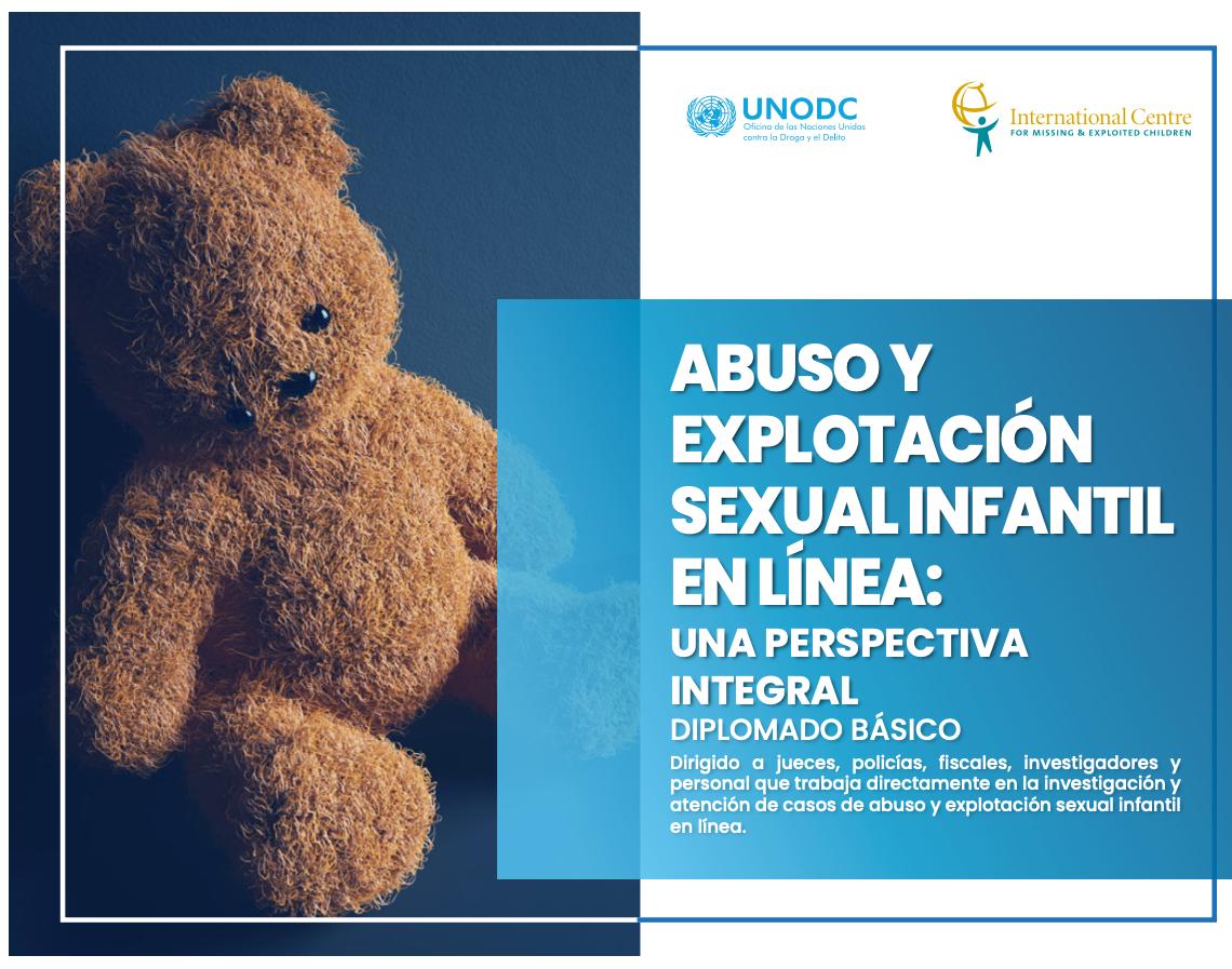 Daniel Monastersky participó como docente en el Diplomado Abuso y explotacion sexual infantil en linea