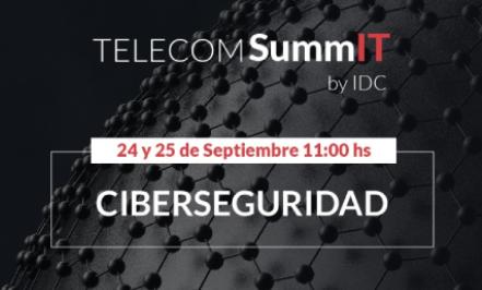"""Participación como speaker en el """"Telecom SummIT"""" sobre Ciberseguridad"""
